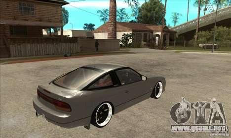 Nissan Silvia S15 1999 para la visión correcta GTA San Andreas