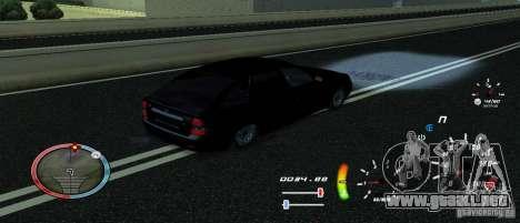 Un velocímetro único para GTA San Andreas tercera pantalla