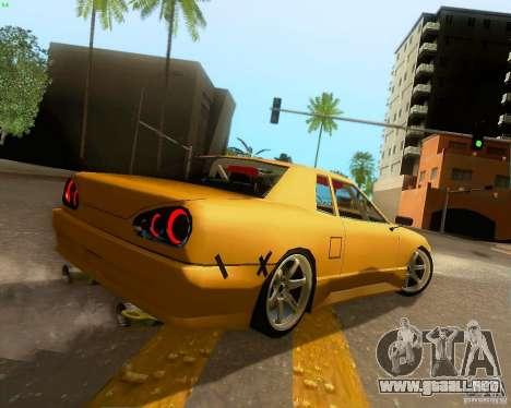 Elegy Drift Korch para GTA San Andreas vista hacia atrás