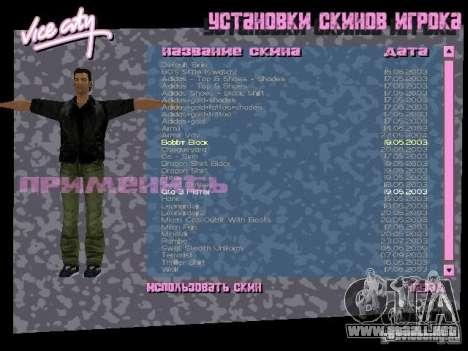 Pack de skins para Tommy para GTA Vice City sexta pantalla