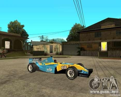 Renault F1 para la visión correcta GTA San Andreas