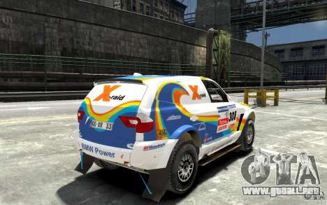 BMW X3 CC DAKAR para GTA 4 visión correcta