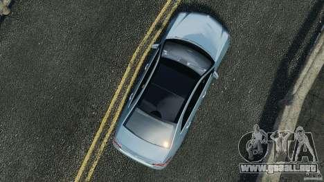 Mercedes-Benz E63 AMG 2010 para GTA 4 visión correcta