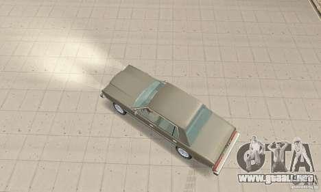 Dodge Diplomat 1985 v2.0 para GTA San Andreas vista posterior izquierda