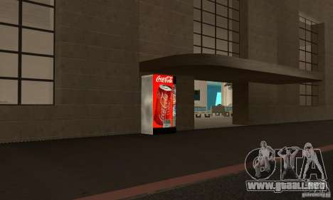 Cola Automat para GTA San Andreas segunda pantalla