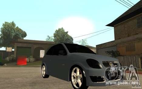 Chevrolet Celta VHC 2011 para GTA San Andreas vista hacia atrás