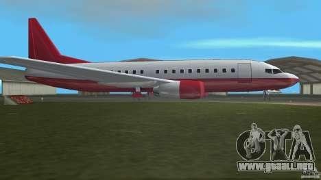 Boeing 737 para GTA Vice City left