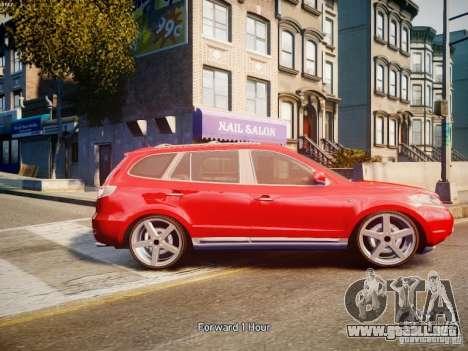Hyundai Santa Fe para GTA 4 left