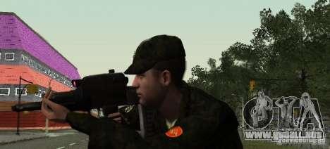 Adder OTS-101 para GTA San Andreas sucesivamente de pantalla