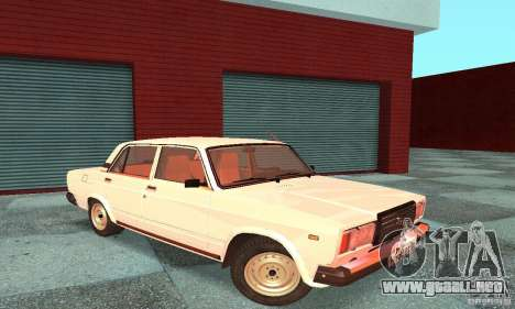 VAZ 2107 v. 3 para GTA San Andreas