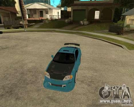 Hyundai Tibuton V6 GT para visión interna GTA San Andreas