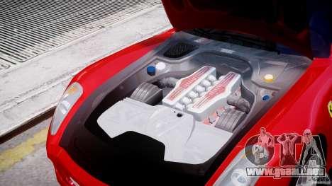 Ferrari 599 GTB Fiorano para GTA 4 vista lateral