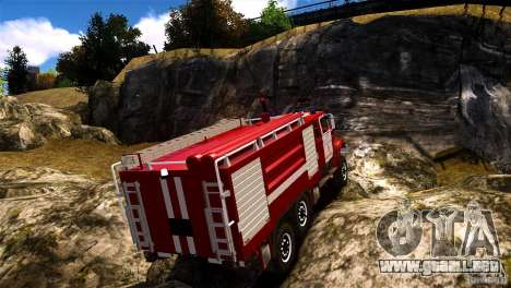 ZIL 433474 bombero para GTA 4 left