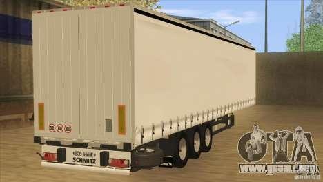 SchmitZ Cargobull para GTA San Andreas left