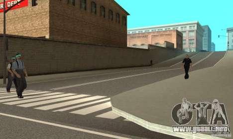New Streets v2 para GTA San Andreas tercera pantalla