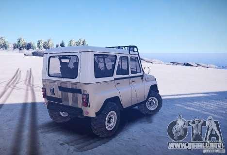 UAZ 31514 versión: 2.04 para GTA 4 Vista posterior izquierda
