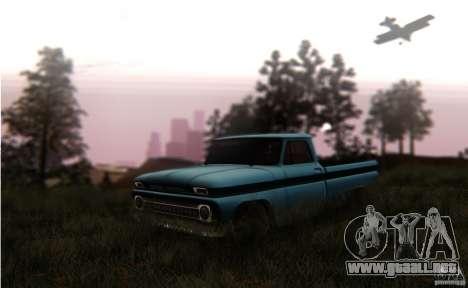 Chevrolet C10 para la visión correcta GTA San Andreas