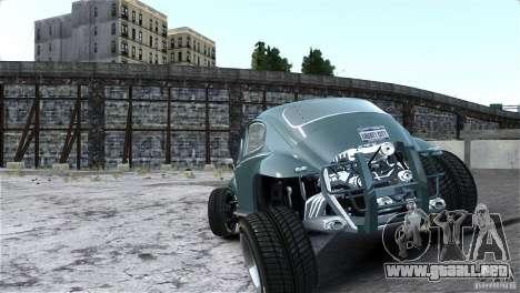 Baja Volkswagen Beetle V8 para GTA 4 vista interior