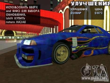 SA HQ Wheels para GTA San Andreas novena de pantalla