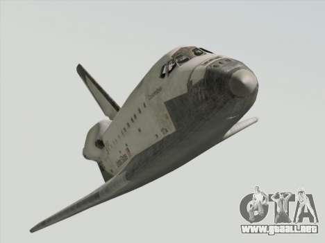 Space Shuttle para la visión correcta GTA San Andreas