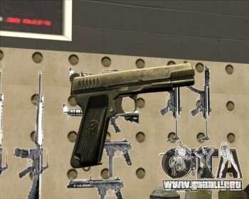 Pistola Tokarev TT para GTA San Andreas
