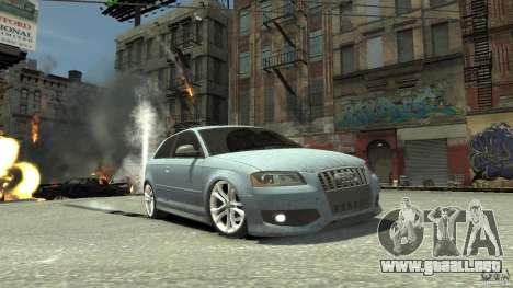 Audi S3 2009 para GTA 4 vista interior