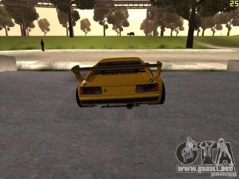 BMW M1 Procar para GTA San Andreas vista posterior izquierda