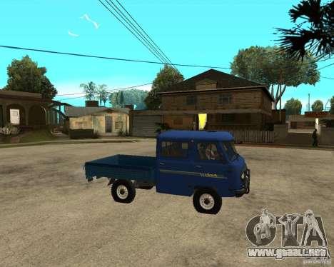 UAZ 39094 para la visión correcta GTA San Andreas