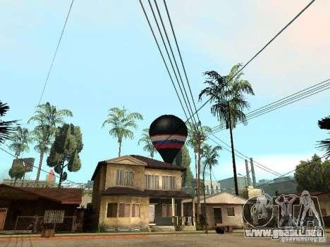 Globo Vityaz para GTA San Andreas left