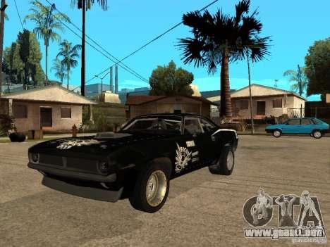 Plymouth Hemi Cuda Rogue Speed para GTA San Andreas