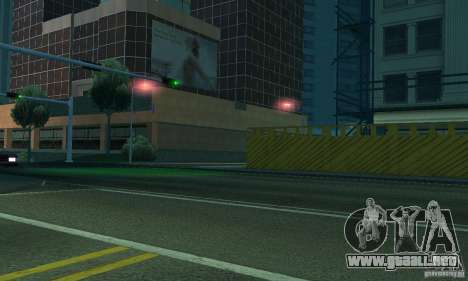 Luz púrpura para GTA San Andreas sexta pantalla