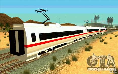ICE3 Train para GTA San Andreas left
