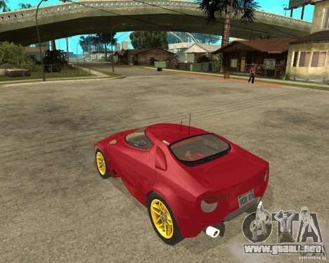 Lancia Stratos Fenomenon para GTA San Andreas left