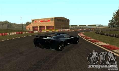 GOKART pista ruta 2 para GTA San Andreas tercera pantalla