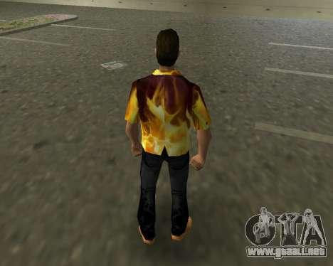 Camisa con llamas para GTA Vice City tercera pantalla