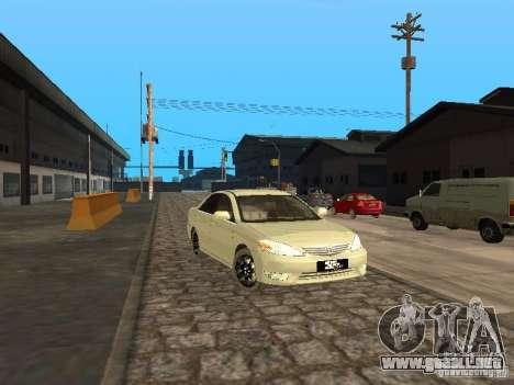 Toyota Camry 2003 para GTA San Andreas left