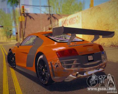 GTA IV Scratches Style para GTA San Andreas segunda pantalla