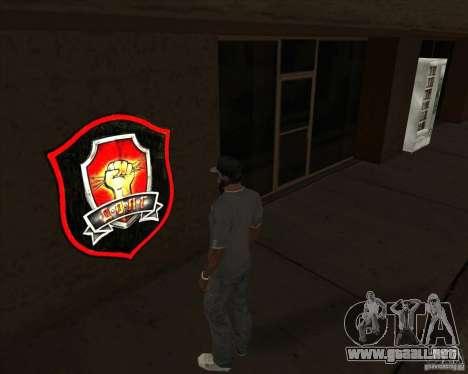 Graffiti stalkers para GTA San Andreas