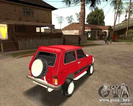 VAZ 21213 4 x 4 para el motor de GTA San Andreas