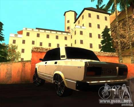 VAZ 2107 Azeri Style para GTA San Andreas left