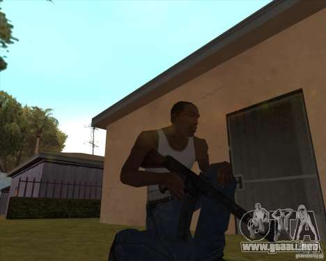 Mp43 (stg44) from wolfenstein para GTA San Andreas tercera pantalla