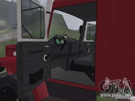 GAZ 3309 fuego para la visión correcta GTA San Andreas