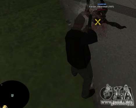 HUD №2 para GTA San Andreas sucesivamente de pantalla