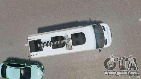 Mercedes-Benz Sprinter-Identification Criminelle para GTA 4 visión correcta