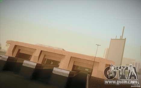 New SF Army Base v1.0 para GTA San Andreas segunda pantalla