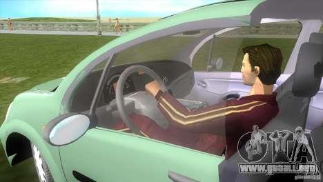 Citroen C3 para GTA Vice City vista lateral izquierdo