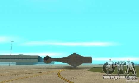 Gaceta YT-2400 para la vista superior GTA San Andreas