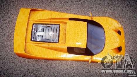 Ferrari F50 para GTA 4 visión correcta
