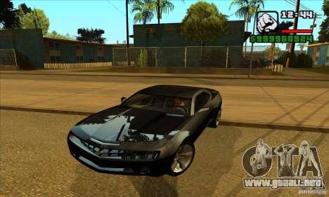 Chevrolet Camaro Concept Z06 2007 para GTA San Andreas