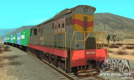 Locomotora ChME3-4287 para GTA San Andreas left